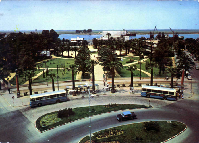 El Parque de los 'Monos' o de las 'Palomas'.
