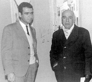 José María Franco junto a Pedro Gómez. / Foto: juntadeandalucia.es.