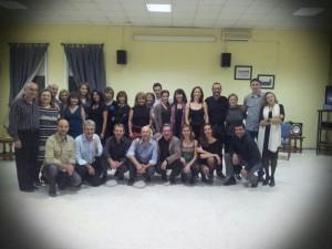 Componentes de La Milonguita de Huelva. / Foto: www.facebook.com/lamilonguitadehuelva.tango