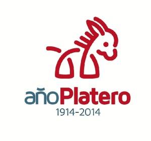 Logotipo del Año de Platero presentado en Madrid.