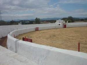 Imagen de la Plaza de Toros de Campofrío. / Foto: Turismo Hispania.
