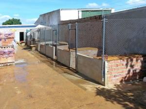 Instalaciones de Puntanimals, aún en contrucción.