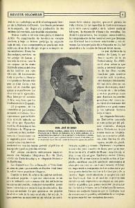 Colaboración de José de Diego, en la revista Rábida.