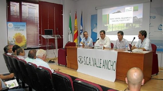 El cultivo del girasol da la bienvenida a la III Feria Agroalimentaria de San Juan del Puerto