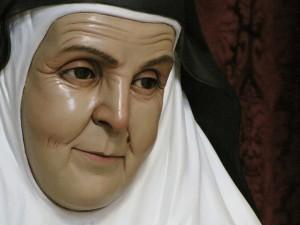 Sor Ángela de la Cruz, realizada para Marchena.