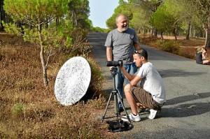 El objetivo de la productora es promocionar Huelva, con rincones increíbles para el cine.