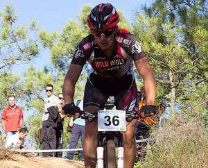 Juan Pedro Trujillo (Wild-Wolf Trek Pro Racing), ganador en Lepe.