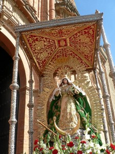 La Virgen de Montemayor, patrona de Moguer.