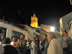 Fiesta del Rosario en Zalamea la Real. / Foto: José Miguel Jiménez.
