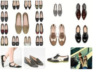 Zapatos planos para este otoño-invierno.