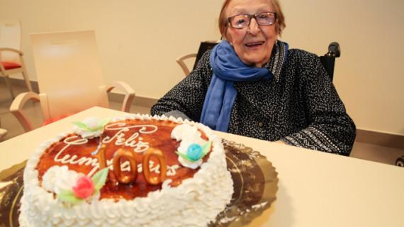 Antonia Márquez, 100 años de felicidad