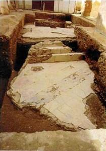 podría relacionarse con un área pública. / Foto: Servicio de Arqueología, Diputación de Huelva.