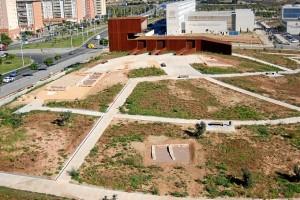 Vista general del yacimiento de La Almagra. / Foto: Área de Arqueología, UHU.