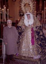La Hermandad de la Victoria de Huelva recuerda a su hermana Rafaela Monís Cano
