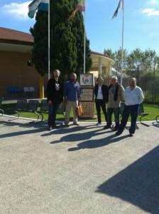 Los participantes, en el Centro Penitenciario.
