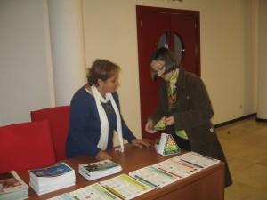 Celebración de la charla sobre Diabetes en Bonares.