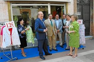 Los comercios de Huelva salen a la calle.