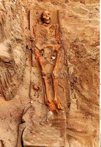 Inhumación de El Eucaliptal del siglo III d. C.