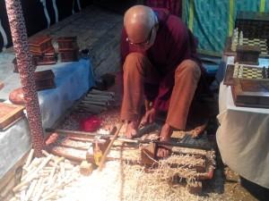 La artesanía ha sido uno de los atractivos de la feria.
