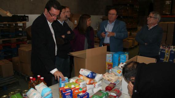 Apoyo a la campaña del Banco de Alimentos de Huelva