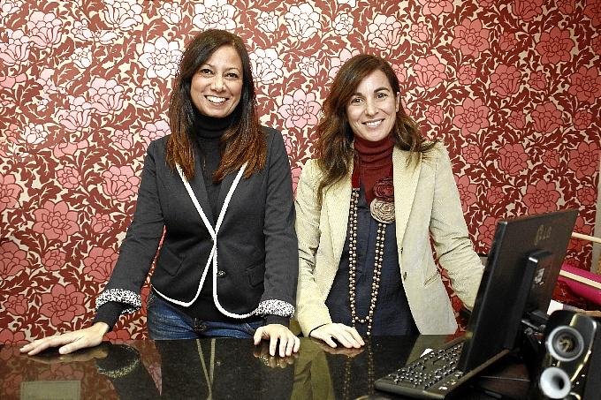 Yolanda Sánchez y Natalia García.