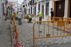 Obras en Bollullos Par del Condado.