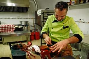Fusión de cocina onubense y siciliana.