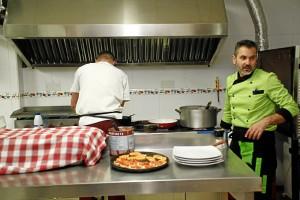 El establecimiento ofrece cocina tradicional siciliana.