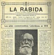 Los colaboradores de la revista 'La Rábida', un ejemplo de que Huelva encabezaba la vanguardia cultural de España y América
