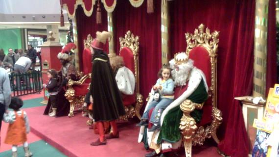 Santa Claus y los Magos de Oriente