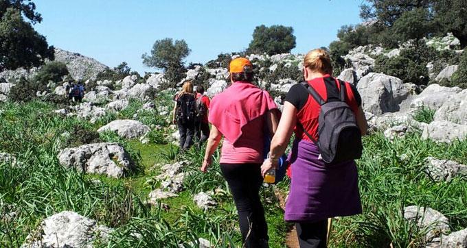 Un sendero de 16 kilómetros de dificultad media espera a los participantes.