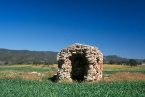 En Aroche se encuentran numerosos restos romanos.