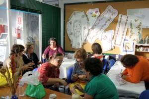 La costura será protagonista de varios talleres.