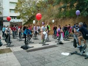 Los onubenses participaron en la actividad.