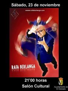 El mago Rafa Berlanga.