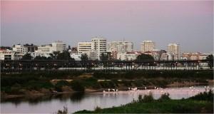 Desde Argentina recuerda mucho a la ciudad de Huelva.