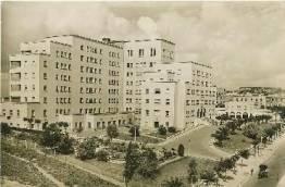 Foto antigua del hospital Manuel Lois. / Foto: www.fernandogarcia.org
