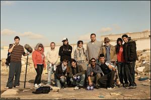 Miembros del equipo de 'Malviviendo'.