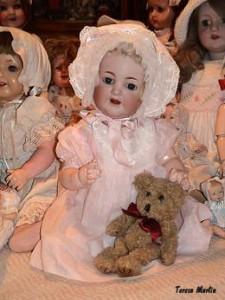 Algunas de las muñecas de la colección.