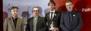 Entrega del Premio Ángel Serradilla en la pasada edición.