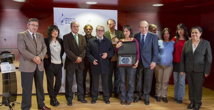 La Asociación de la Prensa de Huelva entrega el VIII Premio Ángel Serradilla