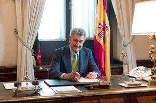 Jesús Posadas, en el Congreso de los Diputados.