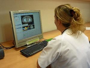 Planificación del tratamiento de radioterapia de un paciente.