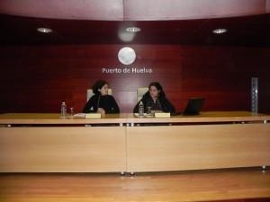 Amanda Meyer y María Villaverde.