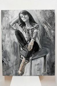 Retrato de su hija Marta, 'Sueños de Juventud'.
