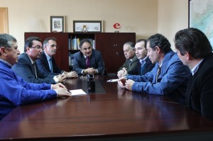 Reunión entre la Confederación Hidrográfica del Guadalquivir y los colectivos afectados.
