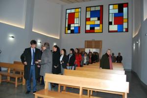 El acto se centró en la capilla.