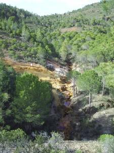 Lugar de nacimiento del río Tinto.