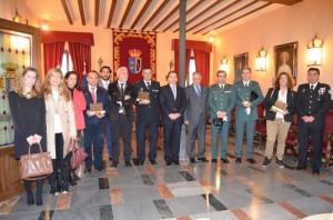 Acto institucional celebrado en el Ayuntamiento de Almonte.