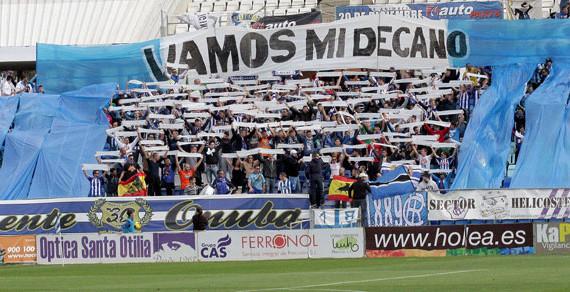 El Recre se apunta al solidario 'entradas por alimentos' para la 'final' del domingo ante el Córdoba B